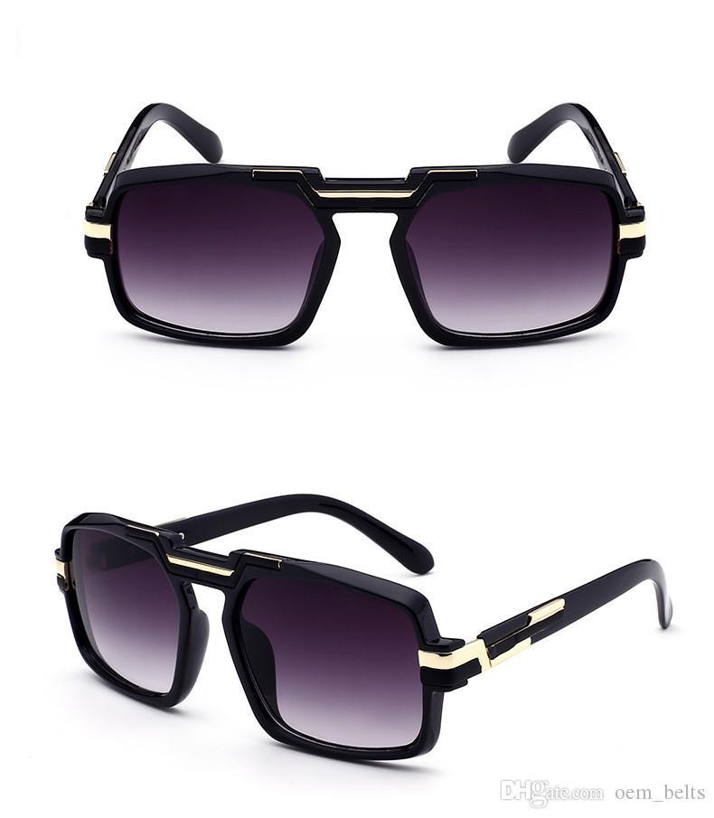 30c56d89b8ab4 New Rectangle Sunglasses Luxury Men Women Brand Designer Popular Full Frame  Sunglasses High Quality UV Protection Fashion Leopard Glasses Cheap  Prescription ...