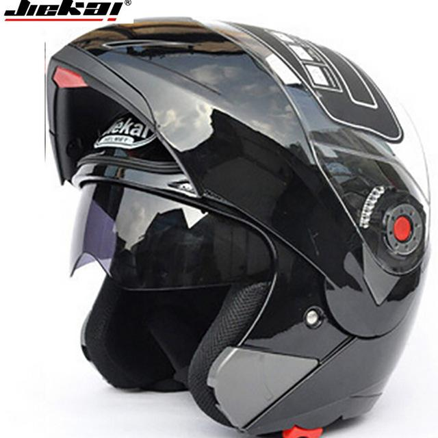 deaf1e95 JIEKAI 105 Motorcycle Helmets Flip Up Double Visors Helmet Racing Full Face  Moto Casco SizeM 2XL Motorcycle Helmets H Motorcycle Half Helmets For Sale  ...