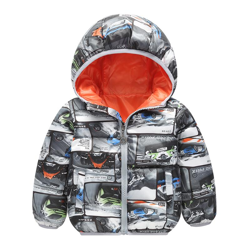c55b1df69 Children Warm Winter Kids Jacket Boys Outerwear Coats Active Boy ...