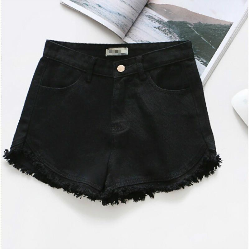 7ea2a7231c 2019 2019 Fashion Summer Women Colorful Fringe Denim Shorts Cotton High  Waist Plus Size Short From Stephanie02, $29.34 | DHgate.Com