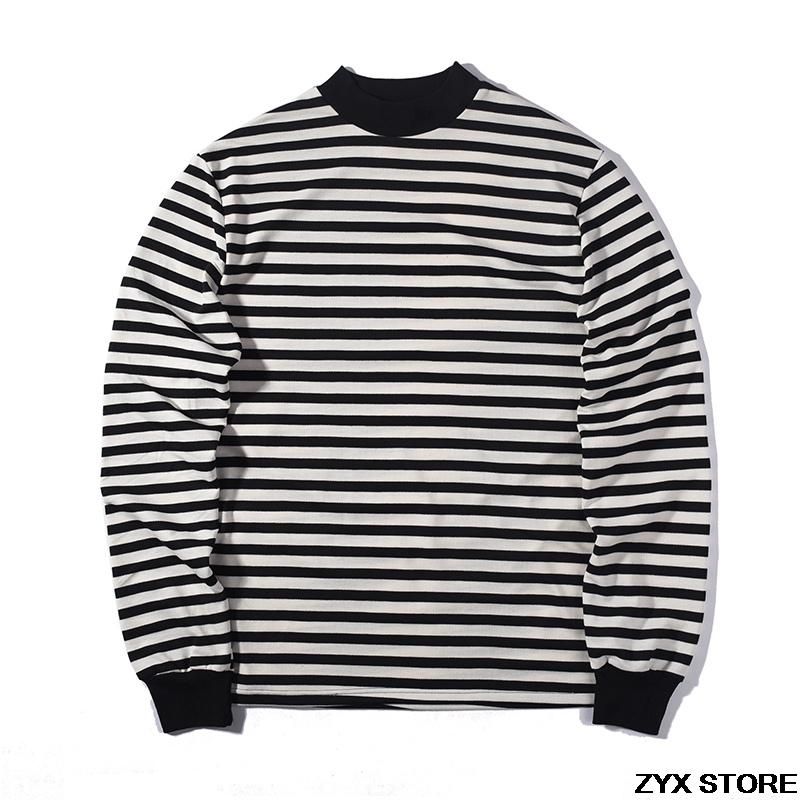 59e685feeb Fear Of God Best VersionQuality Long Sleeve T Shirt Striped Women Men  Hiphop T Shirts Tee Fear Of God Tops FOG Oversized Shopping T Shirt Online  Cool T ...