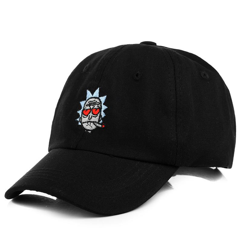 aceb017322b Cheap Rick And Morty New Dad Hat Crazy Cosplay Rick Baseball Cap ...