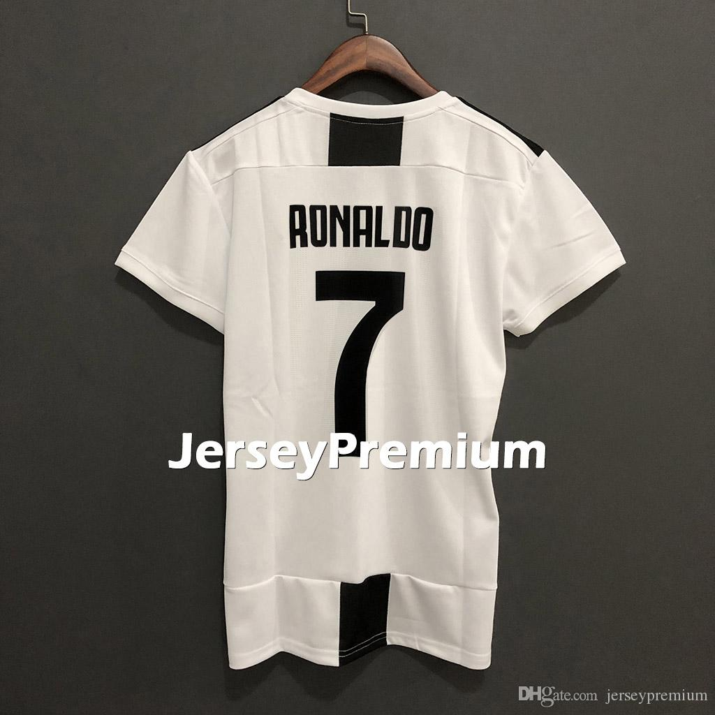 sports shoes 71447 692a5 Womens Juv Home Women Football Soccer Jerseys White Black Shirt Cristiano  Ronaldo Cuadrado Marchisio Chiellini Pjanic Higuain Dybala