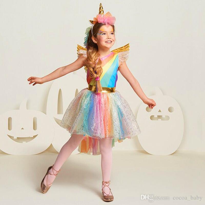 Acquista Costume Da Ragazza Di Halloween Costume Da Ragazza Costume . 6ffd5ab63df3