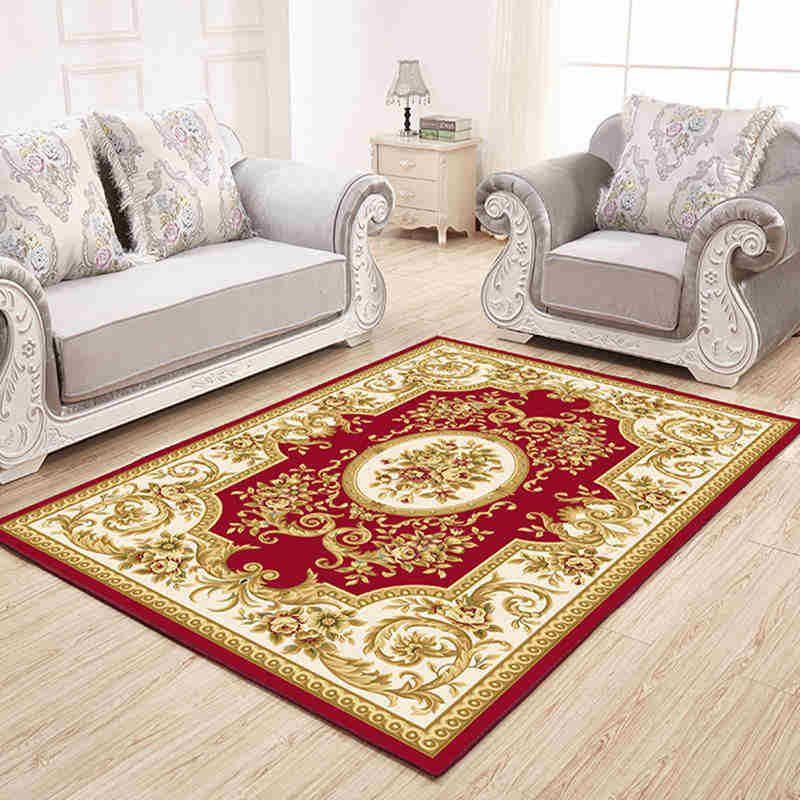 grosshandel europaischen stil teppich fur wohnzimmer teppiche jacquard textile teppich modern home decor schlafzimmer tabelle anti rutsch fussmatten von