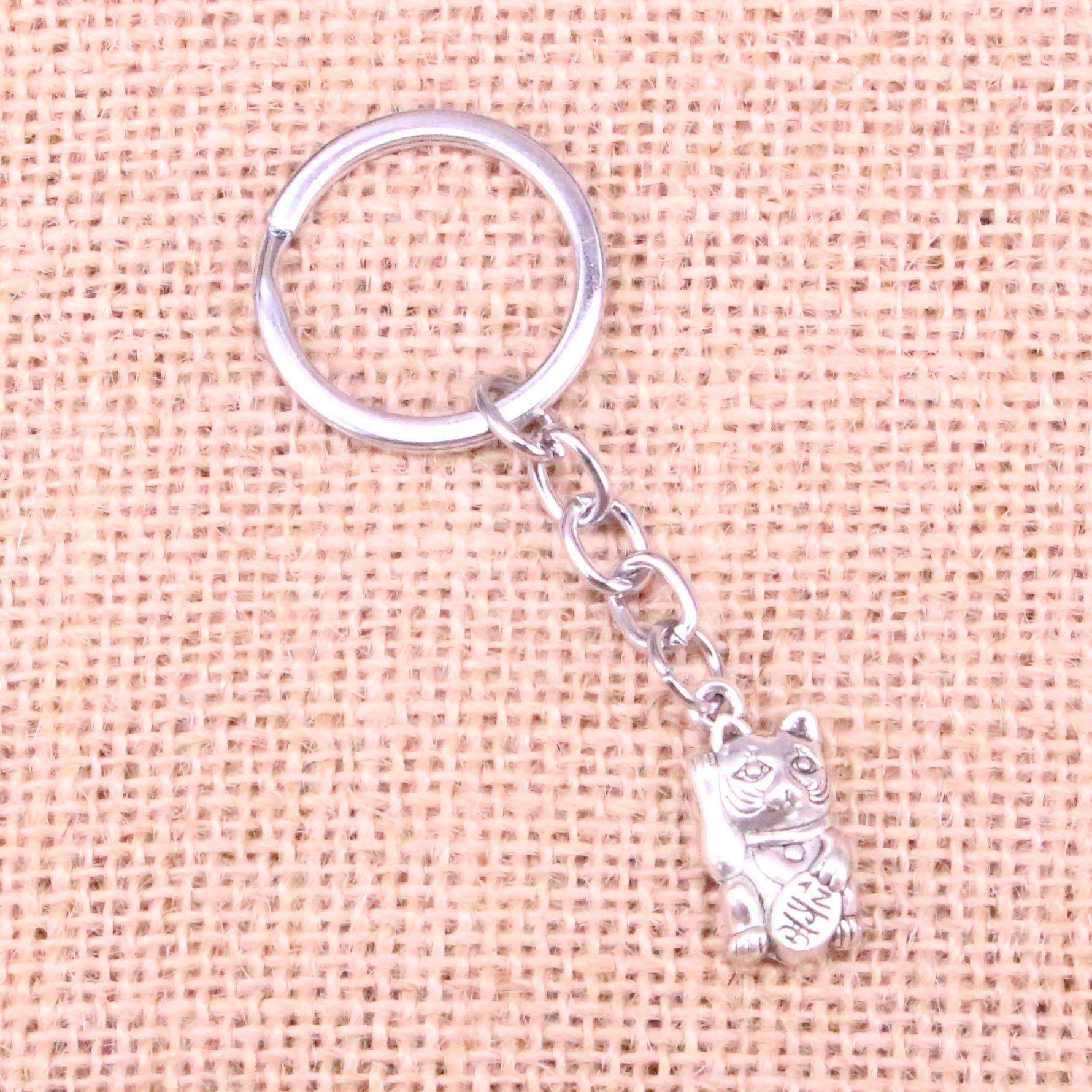 2018 Fashion 28mm Key Ring Metal Key Chain Keychain Jewelry Antique ...