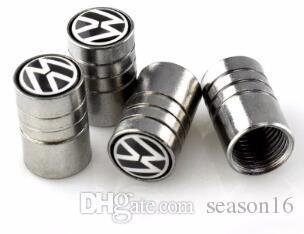 Válvulas de roda do carro-styling pneu tampas case para volkswagen vw r polo passat b5 b5 t5 golf 4 5 6 7 touran jetta tiguan car styling