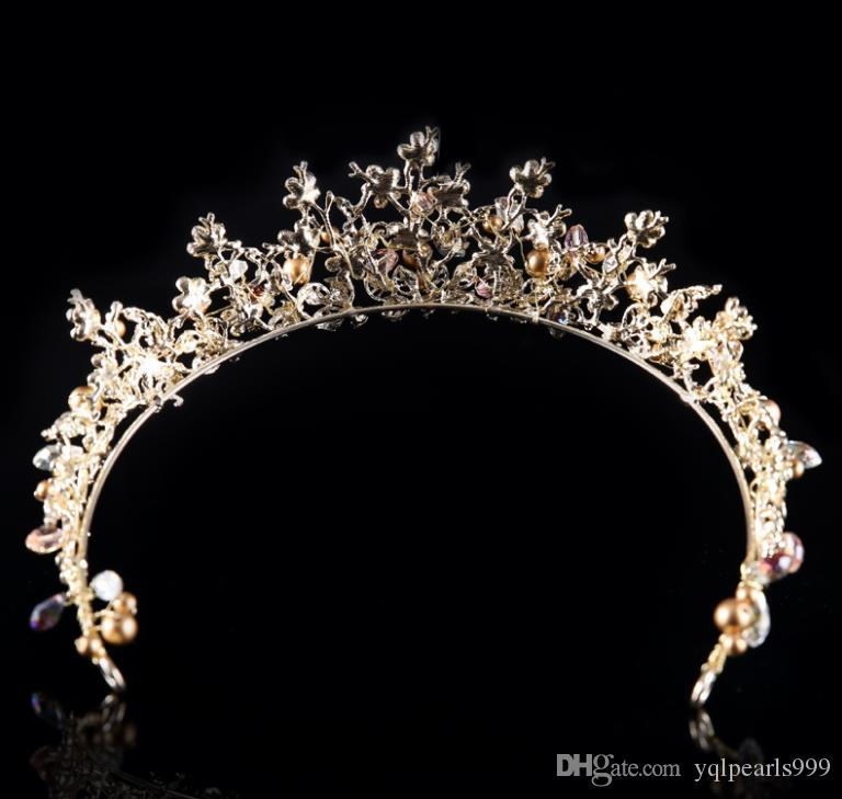 Ihr Kopfschmuck Schmuck koreanische Krone Hoop