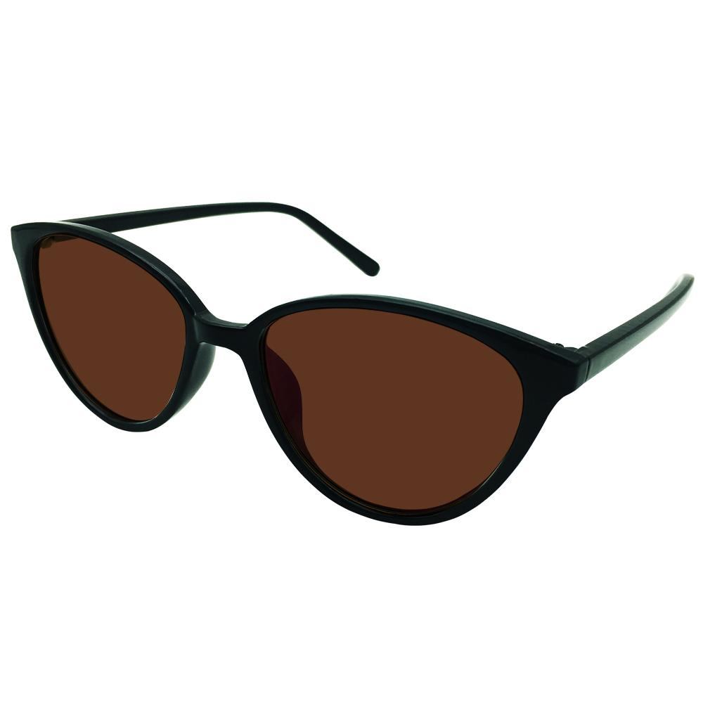 44302a47c5 2019 Ladies Tinted Brown Polarized Cateye Distance Sunglasses Glasses  Myopia Shortsighted Womens Cat Eye Prescription Black Frames From  Amsunshine