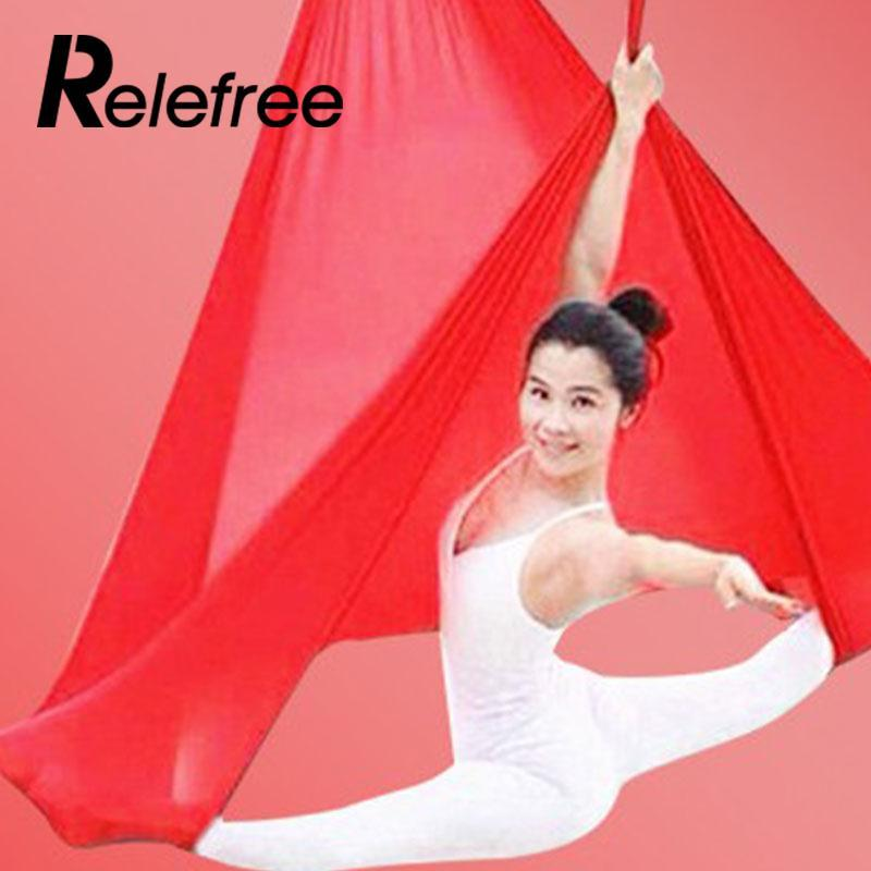 Flying Hammock Inversion Swing Aerial Yoga Fitness Sports & Entertainment Fitness Equipments