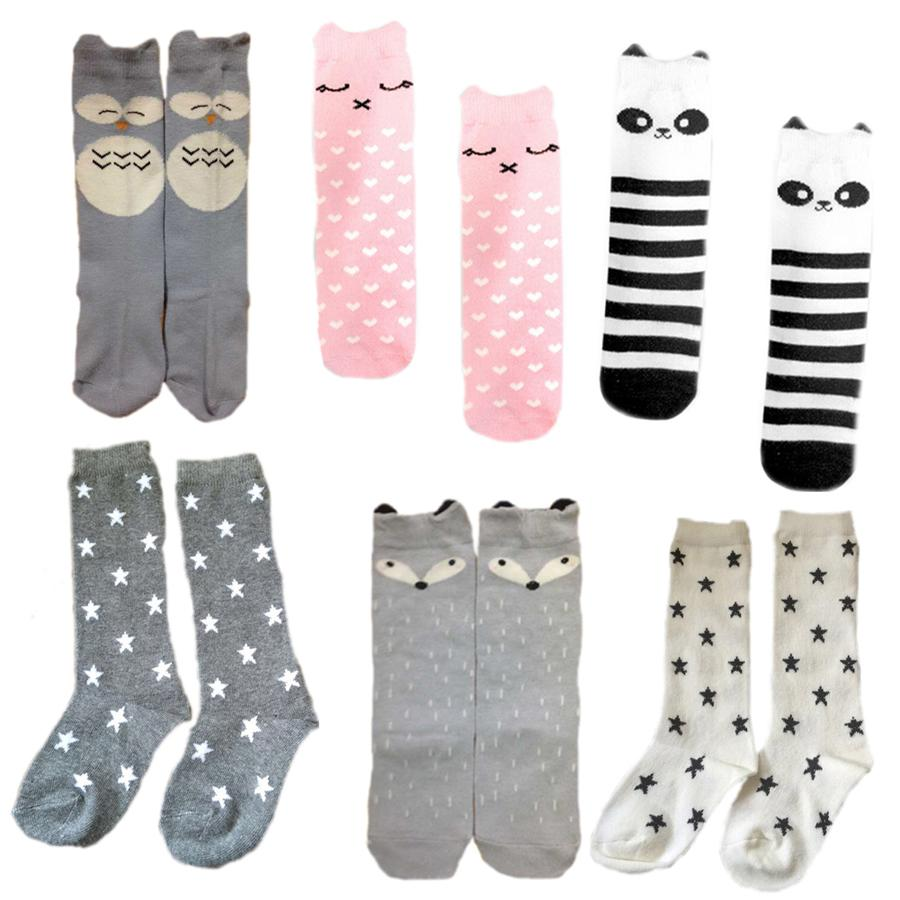 c34a87ad4 6 Designs Baby Socks Children Boy Girl Training Sock Cotton Infant Knee High  Tube Socks For Autumn And Winter Stance Socs Free Socks Site From  Cover3085