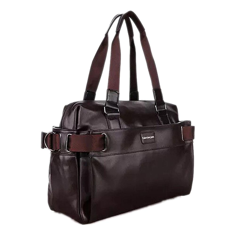 ae593b2a3594 TFTP Men'S Travel Bags PU Leather Luxury Style Men'S Messenger Bag Large  Capacity Men Bags