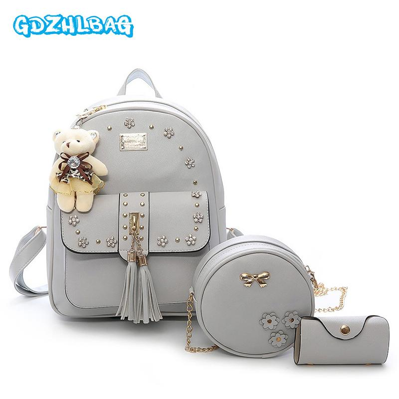 e4ec3643c5e9 Fashion Women MINI PU Leather Backpack Design Women S Backpacks Casual Ladies  Bags Luxury Female Leather Bag B267 Dog Backpack Backpacks For Women From  ...
