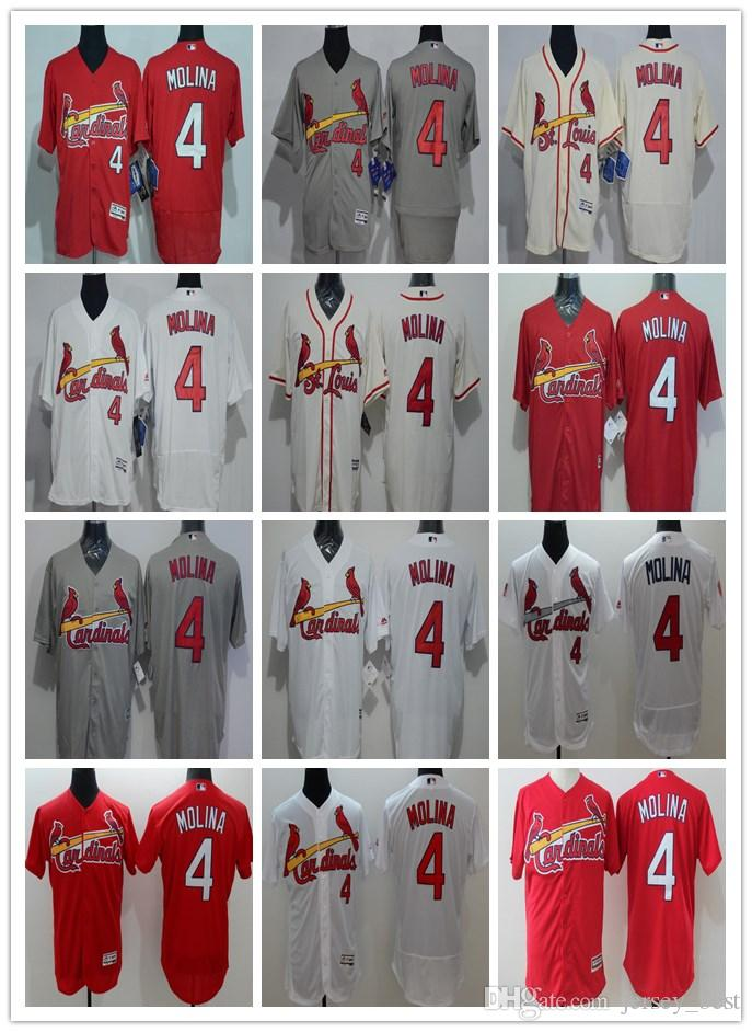 2018 Embroidery St Louis Cardinal Majestic Jersey Mens Women Youth