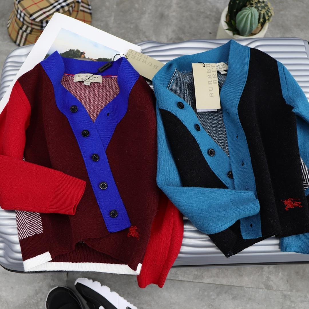 dca1b9e2d93e Kids Sweaters Home New Pattern Back Stripe Split Joint Spelling ...
