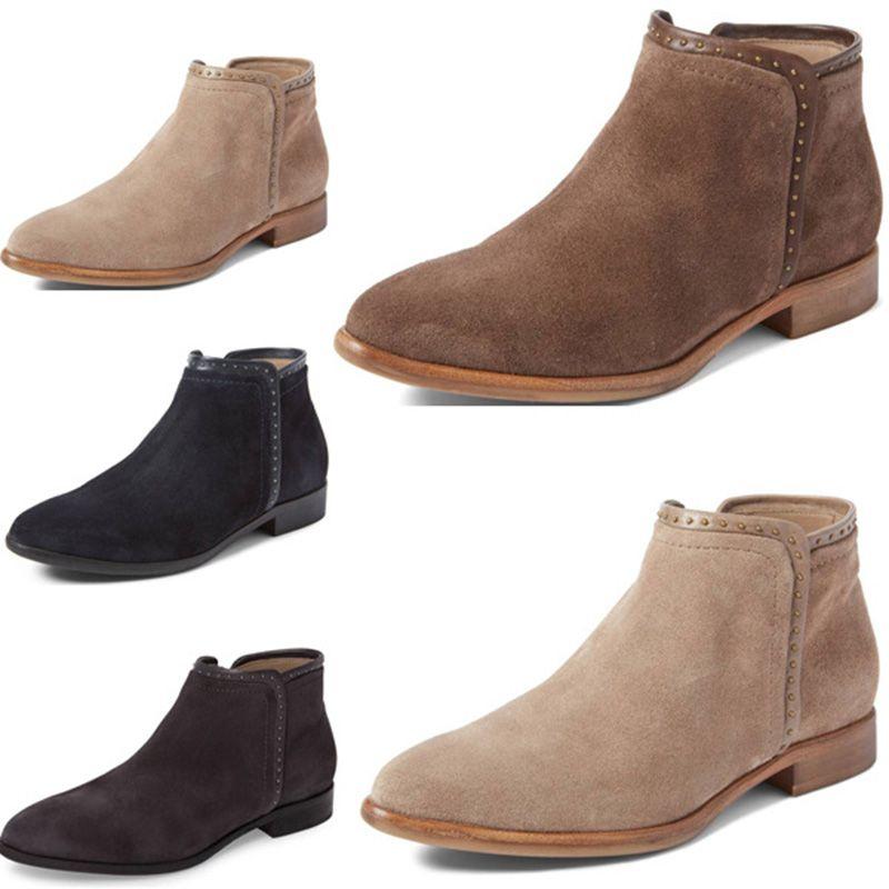 f755d5d8599 2018 New Cheap Sale Women Boots Winter Warm Martin Boots PU Women s Ankle  Shoes Short Woman Ladies 34-43