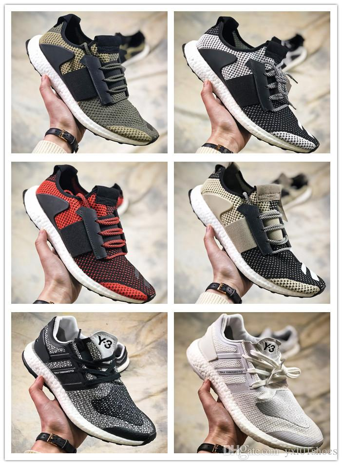 2018 Cheap Sale Consortium ADO Ultra ZG Boost Y3 Black White Grey Sports Running Shoes AAA+quality Men's Jogging Sneakers Size 39-44 cheap real eastbay buy cheap 2015 new original cheap price free shipping professional LYwXI7uCr6
