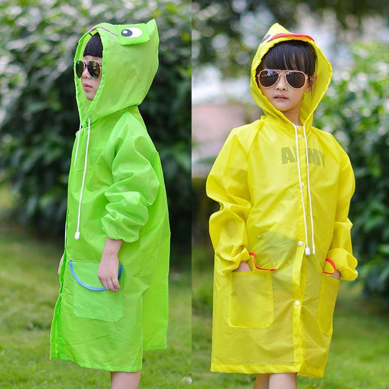 3266f85d461331 Großhandel Wasserdichte 1 STÜCKE Kinder Regenmantel Kinder Regen Mantel  Regenbekleidung Winddicht Rainsuit Cartoon Tier Stil Student Poncho Von  Cassial, ...