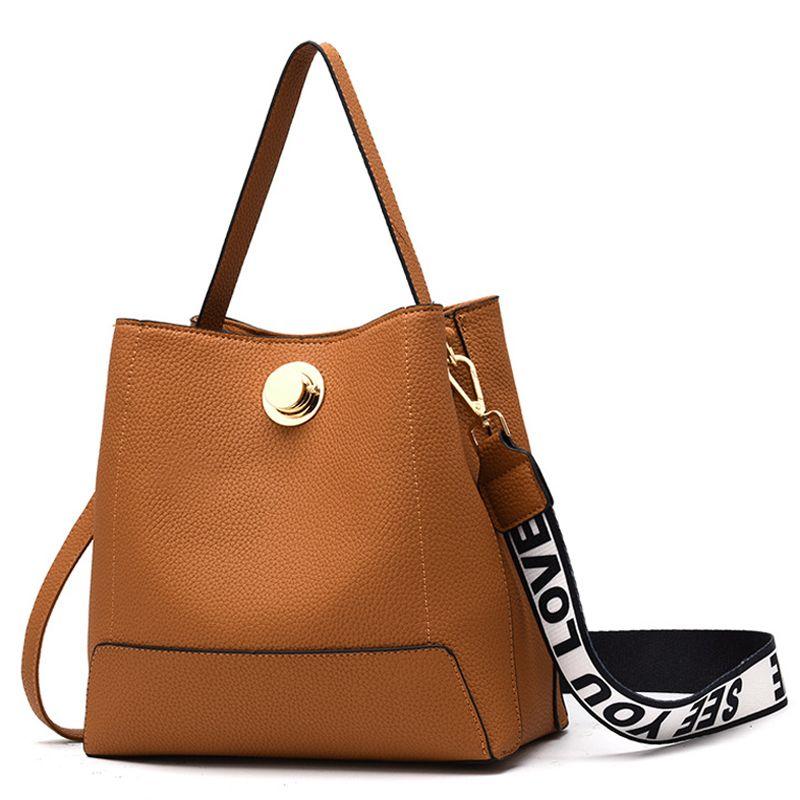Fashion Women Handbags Women Bucket Bag Designer New Luxury Shoulder Bag  High Quality PU Brand 2018 Korean Style Big Capacity Handbags Purses From  Ultraweek ... 314a459f45