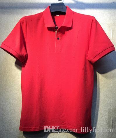 Compre Coletar Londres Men Brit Polo Shirt Inglaterra Moda Mens Vestuário  Sólidos Camisas Polo De Manga Curta 2018 Marca Branco Camisa Polos Azul De  ... b99195f0dff6a