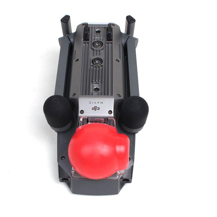 Новое хобби сигнал карданный гвардии объектив камеры крышка силиконовый защитный чехол Чехол капот для DJI MAVIC PRO бесплатная доставка