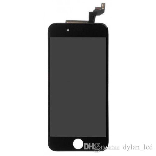 Digital Converter Touch Screen LCD Touch Digitale Touch Screen iPhone 6s + Schermo in vetro Bianco + Nero.