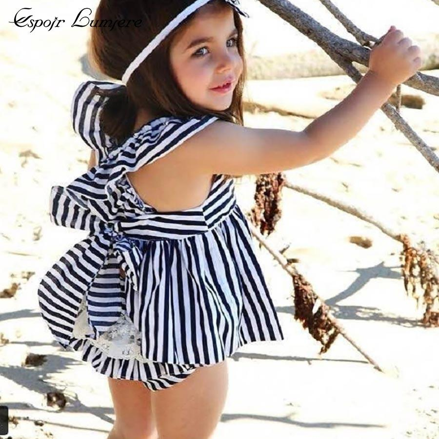 086d32f7058b9 2019 Espoir Lumiere Girl Dress Outfit Cotton Briefs Baby Girl ...