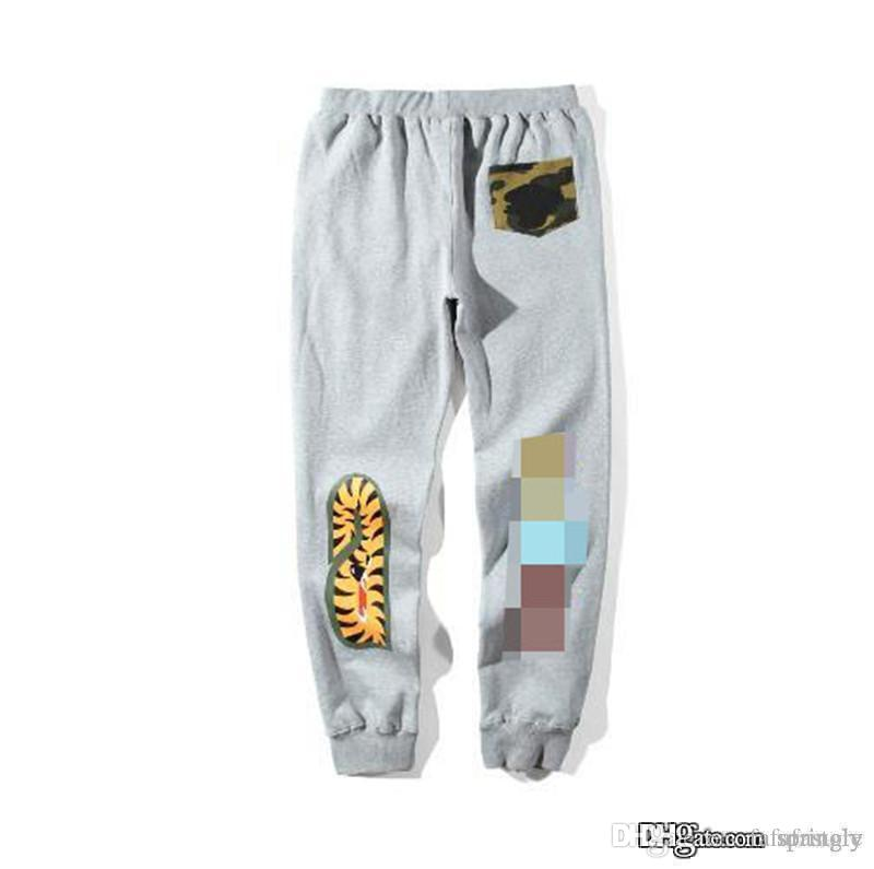 2017 AAA Quality A Bathing A Ape Bathing 1 Ape Pants Bap Sweatpants Skinny  Outwear Casual Jogger Trousers Unisex Online with  95.81 Piece on  Fafafastore s ... f0daac4023