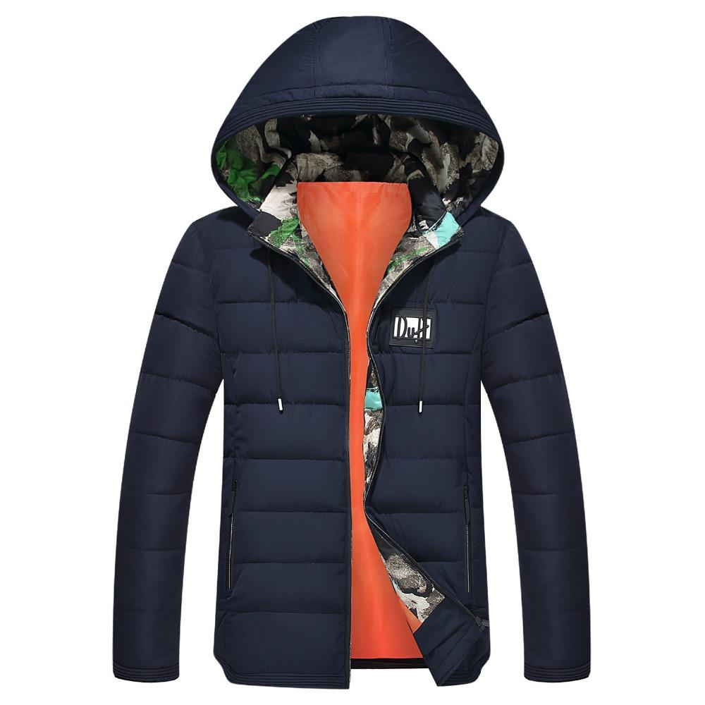 01c00aec9942 2019 2018 Brand Men S Clothing Winter Jacket With Hoodies Outwear Warm Coat  Male Solid Winter Coat Men Casual Warm Jacket From Mujing