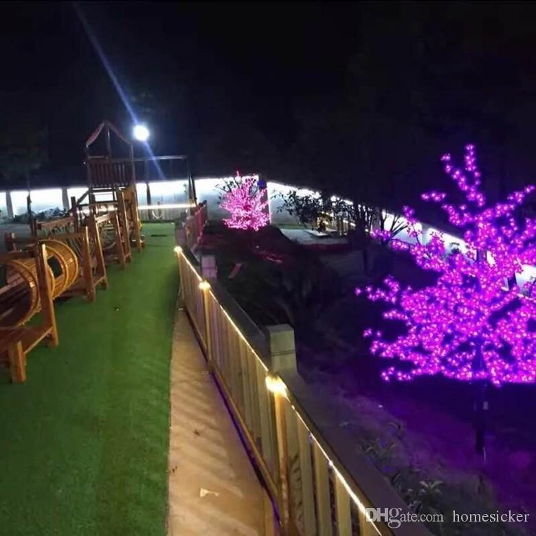 LED Cherry Blossom Tree Light 480~LED Bulbs 1.5m~3m Height 110/220VAC Seven Colors for wedding decoration