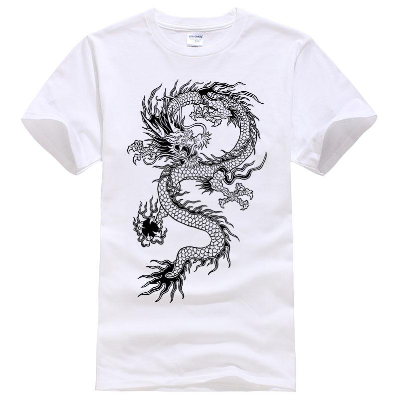 88bb9185ced36 2017 Summer New Men Women Brand T Shirt Fashion Dragon Printing Cool T  Shirt Plus Size Short Sleeves T Shirt Men  094 Cool Shirt Designs T Shirt  Quotes From ...