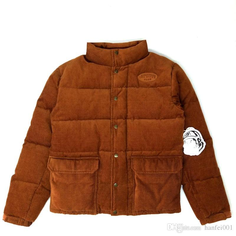 676d58f8cea95 Billionaire Boys Club BBC Corduroy Cotton Jacket Brown Men Women Coats  Fashion Outerwear Top Quality HFLSJK228 Coats For Mens Style Jacket From  Kingboon, ...