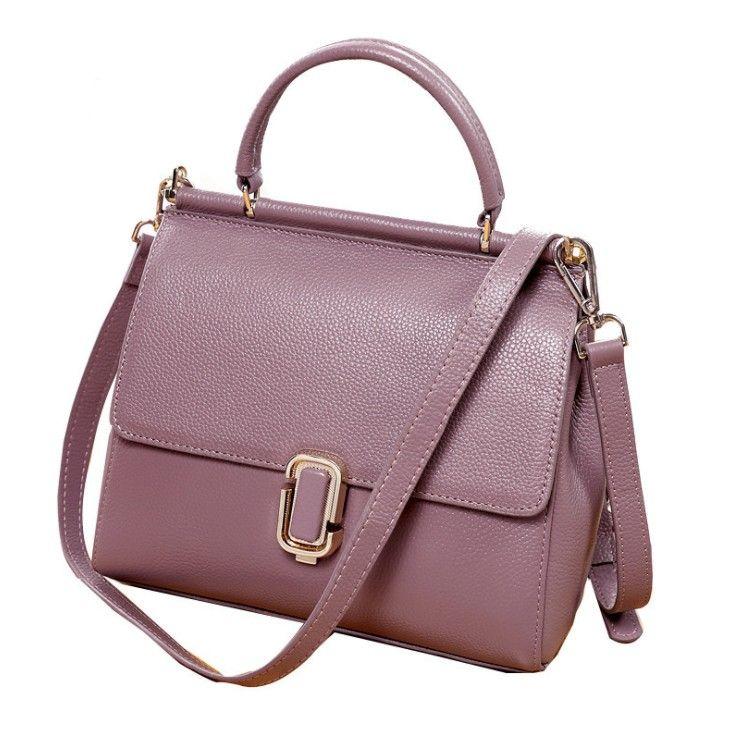 bacf61ab45a3a 2018 Handbag Small Fashion Casual Lady Bag Women Mobile Phone Bag Hand Grab  Bag Cross Body Shoulder Bags Black Genuine Leather Tote A7847 D Crossbody  Purses ...