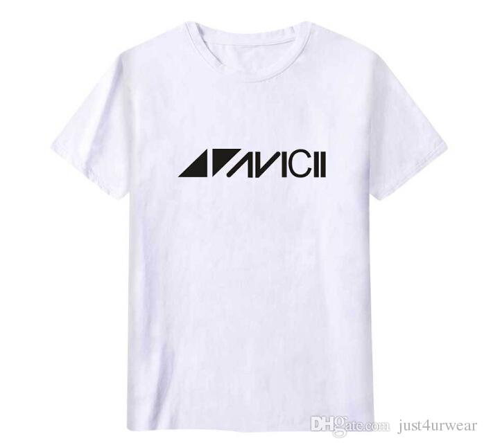 f48c689f Lovers Casual Loose Avicii Print T Shirt Men Women Summer Short Sleeved Hip  Hop Tees Sweden DJ Avicii Fashion Tshirt Male Tops Wear T Shirt Online Buy  Cool ...
