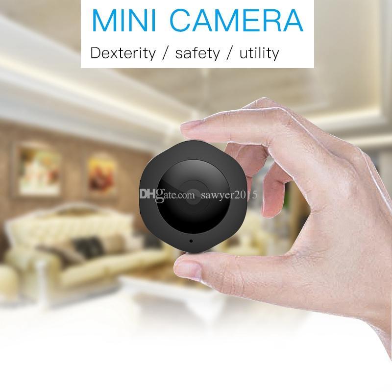 H6 Mini Wifi Cámara de bolsillo Micro DV DVR HD IR Visión nocturna Detección de movimiento Cámara del cuerpo Monitor de red inalámbrica Cámara de bicicleta