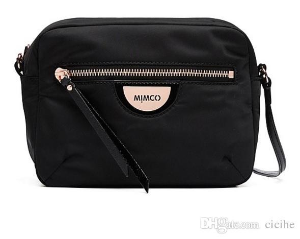 MIMCO Fashion Women Echo Black Rose Gold