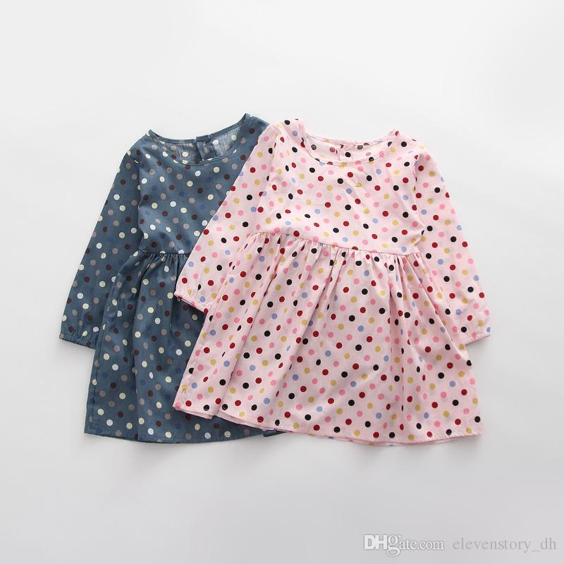 910d6e12462 3 to 8 Years Baby Girls Floral Dresses Autumn Spring Sleeveless Dress