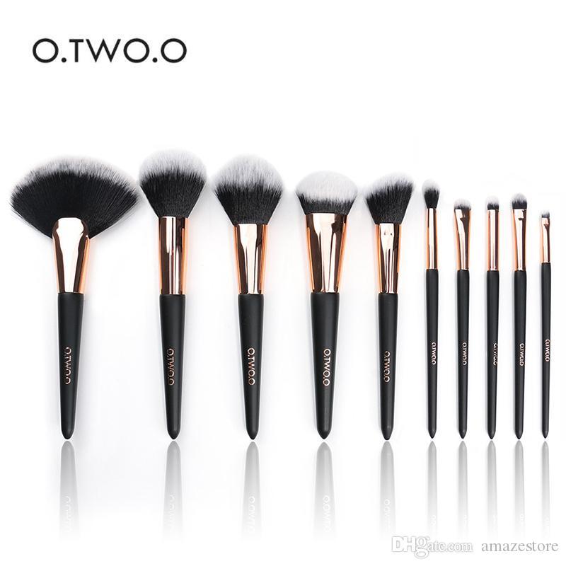 9b08de3fd O Make Up Brushes Tool Set De Brochas De Maquillaje Matte Black Cosméticos  Set De Brochas De Maquillaje Belleza Negro Oro A $16.76 Del Amazestore |  DHgate.