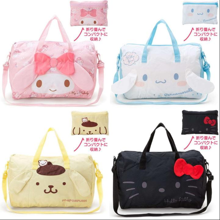 51c6e80069ab New Hello Kitty Melody Pudding Dog Portable Folding Luggage Bag Handbag  Satchel Four Styles Can Be Chosen. Ultra Large Capac Gym Bags For Men Big  Bags From ...