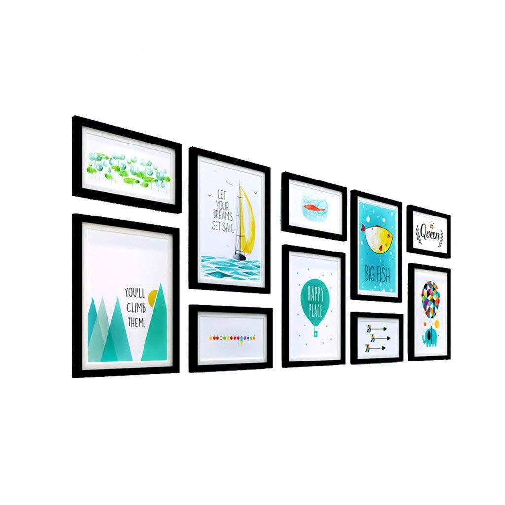 Photo Wall Multiple Combinations, Art Frame Walls, Irregular ...