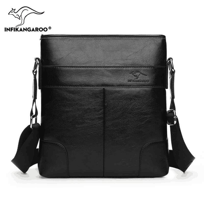 09fc14ae70cb 2018 Business OL Men Satchels Messenger Bags Travel High Quality Male  Shoulder Bag Fashion Vintage Men s Soft Crossbody Bag Crossbody Bags Cheap  Crossbody ...
