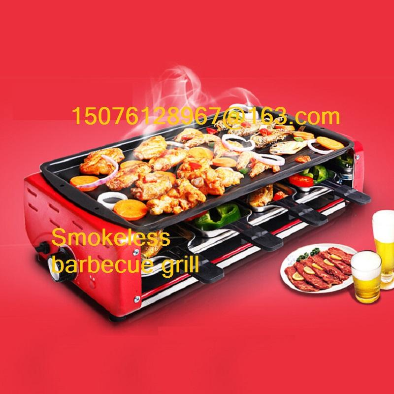 2018 Household Electric Barbecue Grill Smokeless Indoor Electric ...