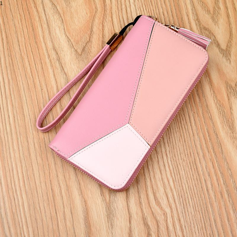 c9ae2e37a87 Fashion Long Woman Purse New Luxury Designer Female Wallet Clutch PU Leather  Ladies Purses Card Holder Girl Phone Bags Small Wallets Wallet Purse From  ...