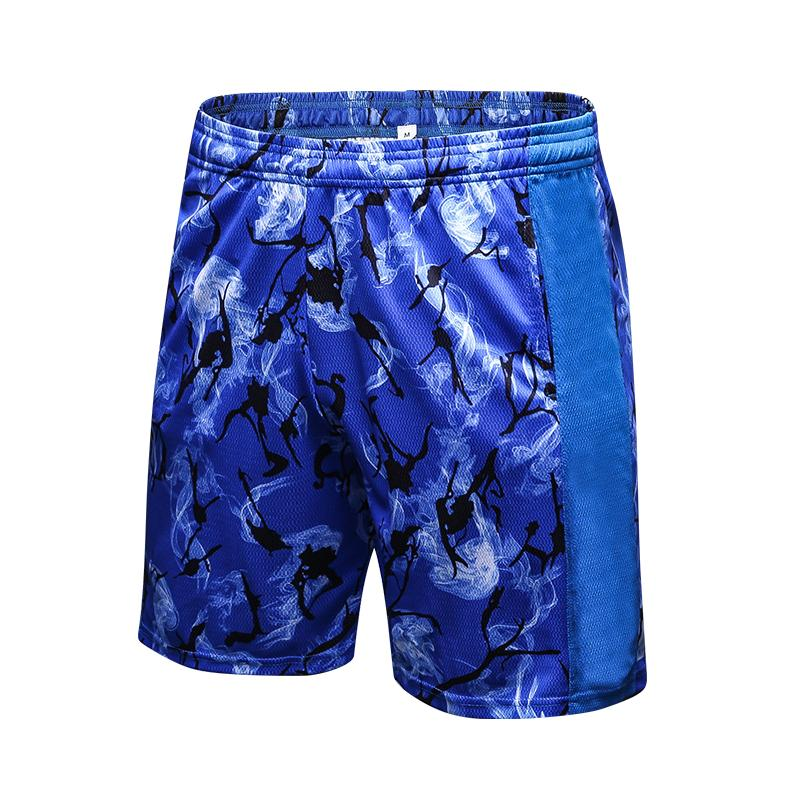c649b7ad187b Mens Gym Fitness Cotton Camouflage Shorts Run Jogging Outdoor Sports ...