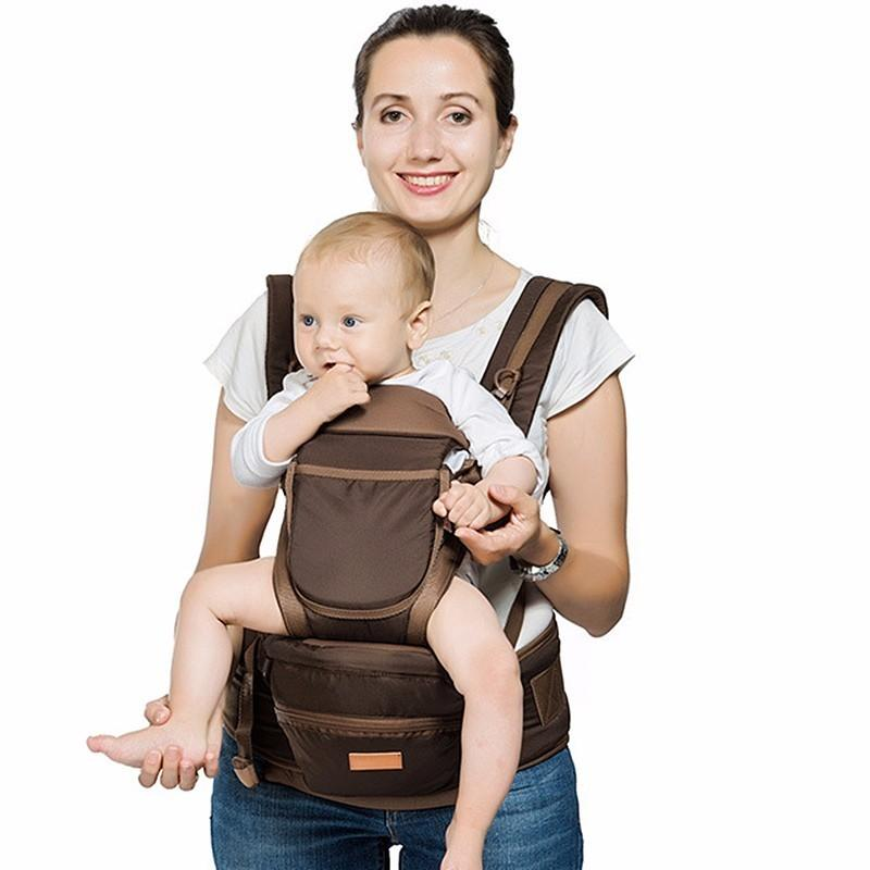98e2600bd3a 2019 Luxury 9 In 1 Hipseat Ergonomic Baby Carrier 360 Mochila Portababy Sling  Backpack Kangaroo For Children Baby Wrap Chicco From Bdshop