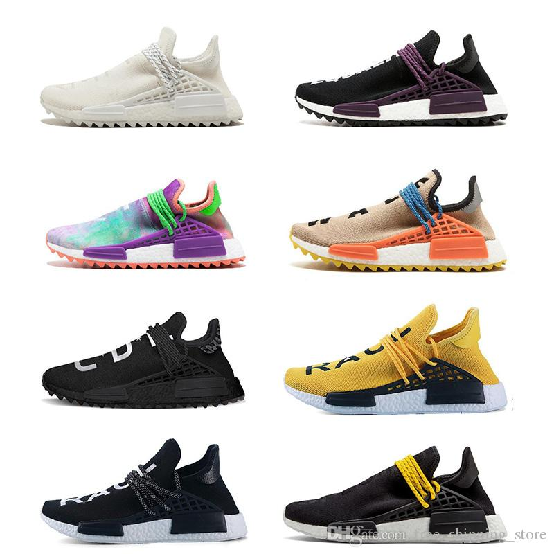47686d3c1 New Human Race Running Shoes Pharrell Williams Hu Trail Cream Nerd ...
