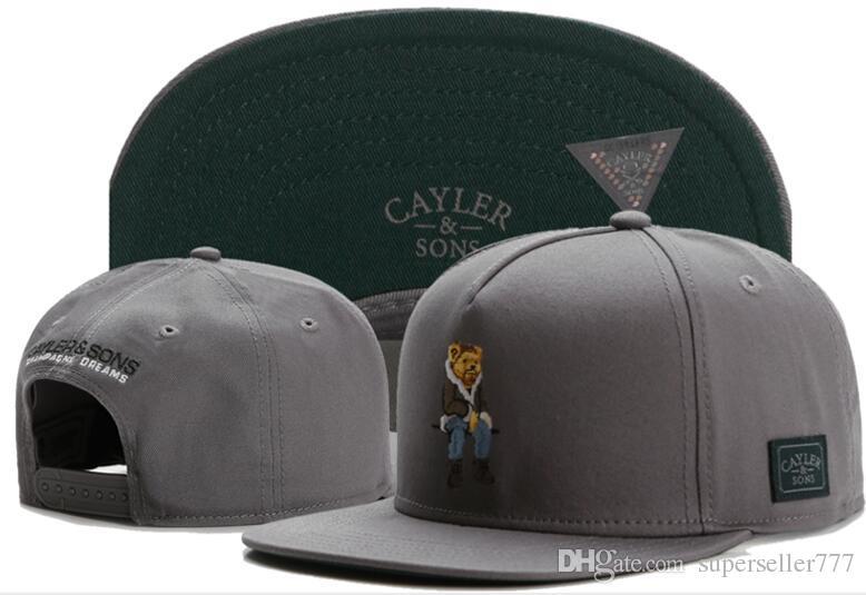 9a03e397871 2018 Fashion Hip CAYLER   SONS Snapback Hats Cap Baseball Hats ...