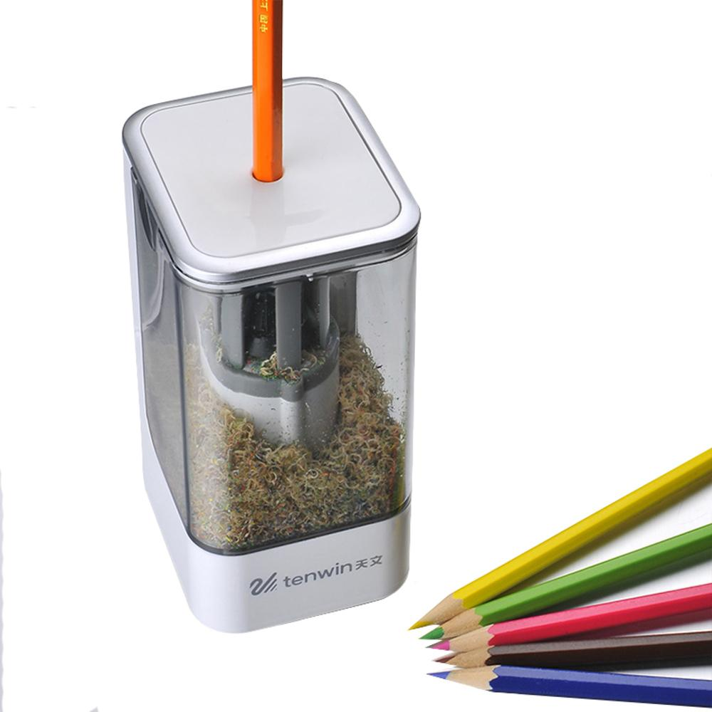 2018 TENWIN 8006 New High Quality Automatic And Electric Pencil Sharpener  One Hole Plug In Use Safety For Kids From Bowse, $39.47 | DHgate.Com