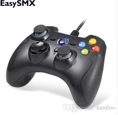 EasySMX ESM-9100 Wired Game Controller Gamepad Joystick with TURBO TRIGGER  Button Joypad for PC PS3 TV Box Android Smartphone