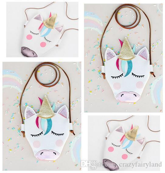 506ecd2e1b71 Shoulder Bags Unicorn Baby Girls Messenger Bag Coin Accessory PU Cloth Cartoon  Cute Kids Mini Shoulder Bag Boutique Purse DHL Branded Bags For Girls ...